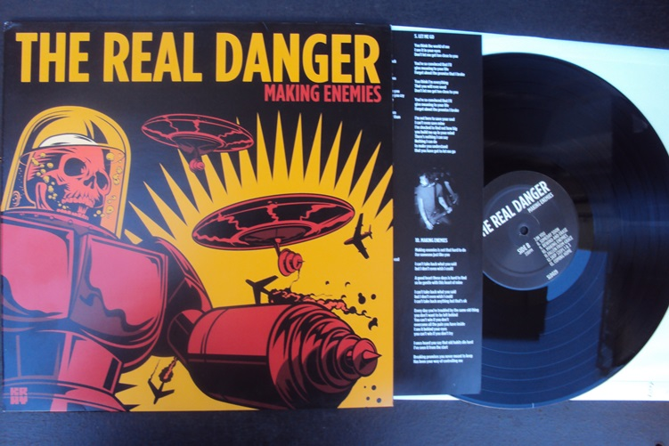 The Real Danger Making Enemies Shield Recordings SLD 029