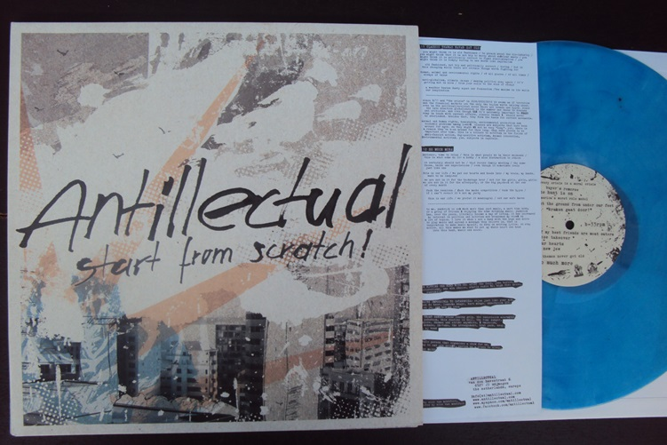 Antillectual Start from Scratch Blue Shield Recordings SLD 034