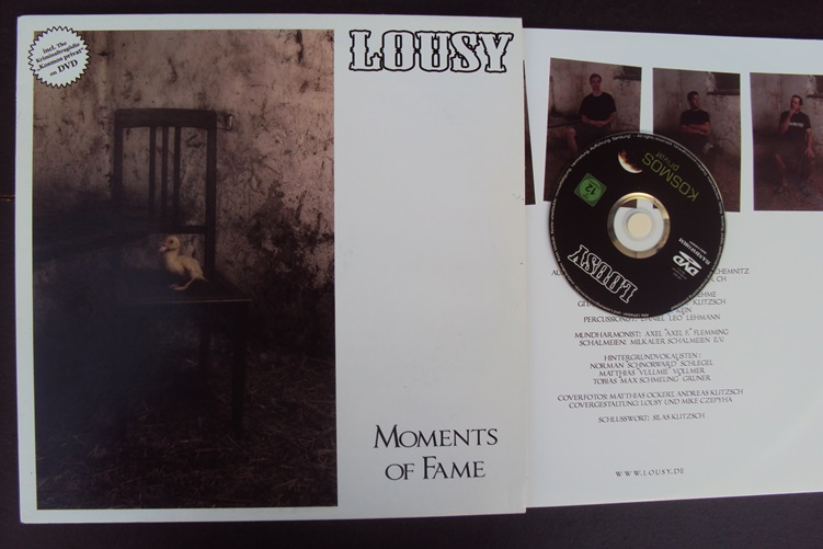 Lousy Moments of Fame DVD Bandworm Records BW 75 LP Vinyl