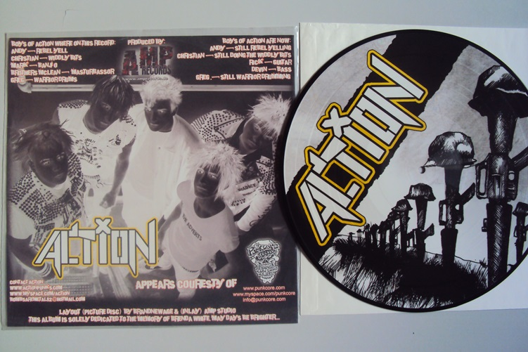 Action Same Picture Disc Amp Records 2004 Vinyl