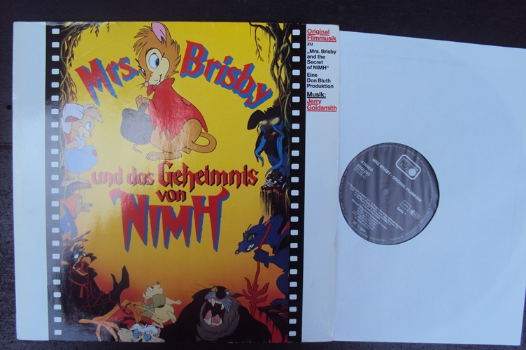 Jerry Goldsmith Mrs. Brisby Secret of Nimh Metronome Geheimnis OST