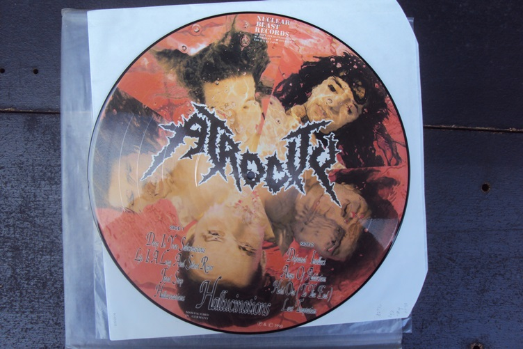 Atrocity Hallucinations Picture Disc Nuclear Blast Records 1990