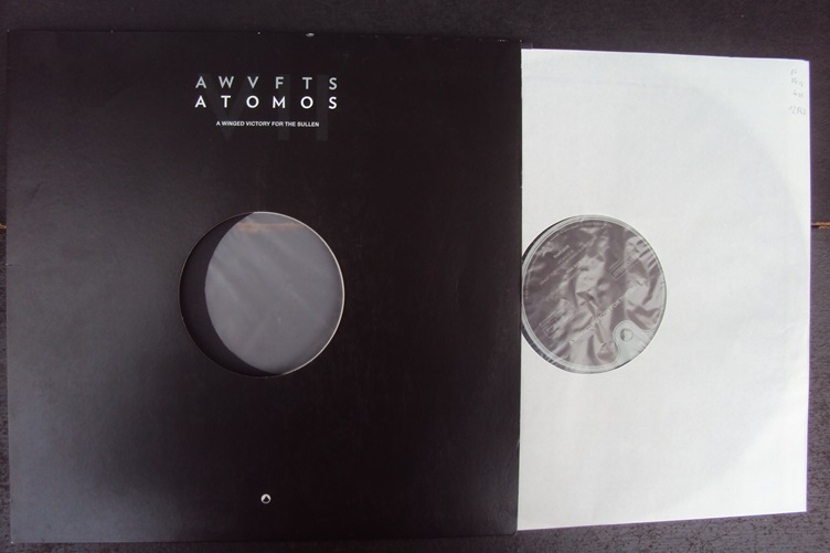 A Winged Victory for the Sullen Atomos Erased Tapes Records 2014 LP