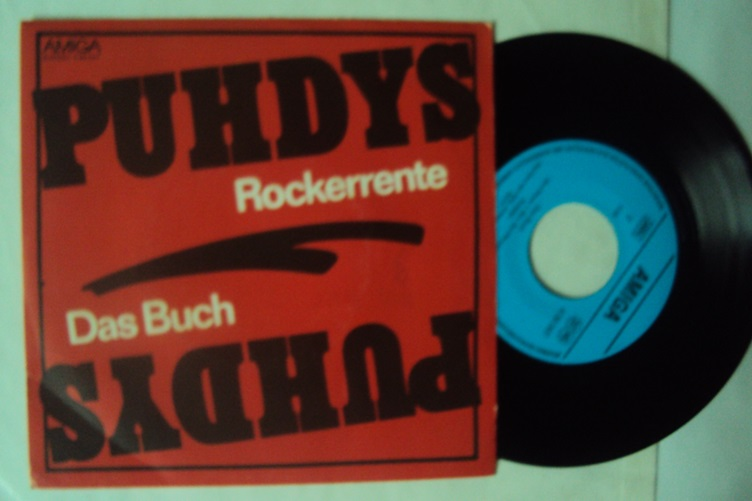Puhdys Rockerrente Das Buch Amiga 456547 Single Ankauf