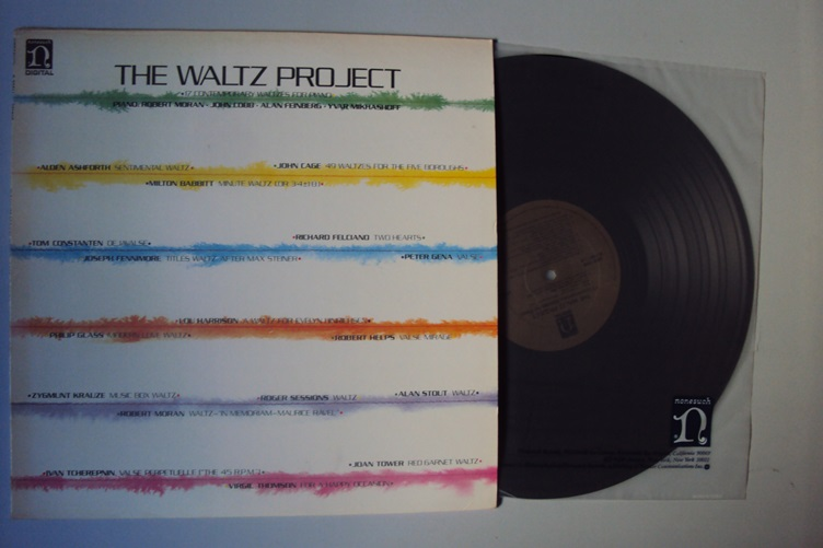 Waltz Project Contemporary Waltzes for Piano Nonesuch Mikhashoff LP