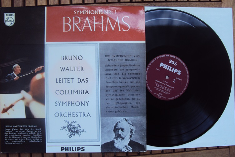 orchestra brahms symphonie 1 bruno walter philips a l