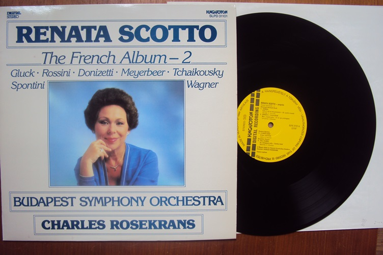 Renata Scotto French Album 2 Hungaroton SLPD 31101 Rosekrans