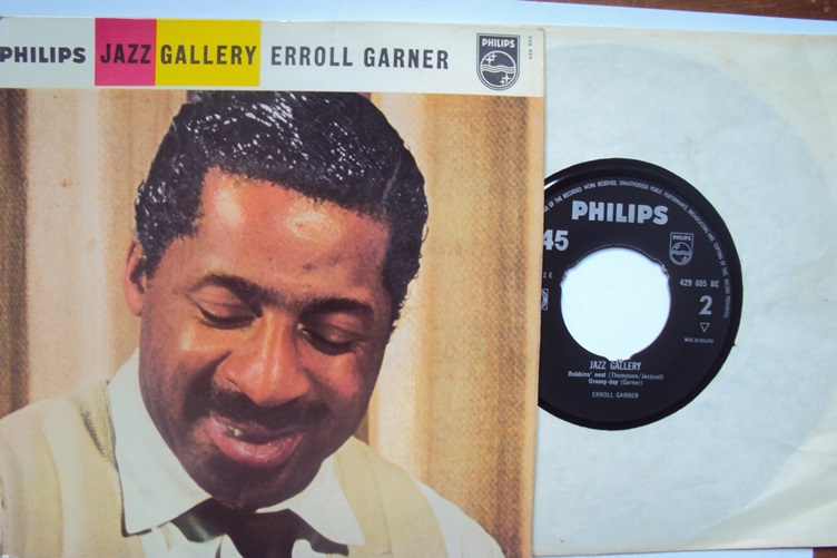 Erroll Garner Jazz Gallery Philips 429605 Play Piano